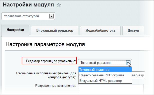 Битрикс редактор html я программист битрикс