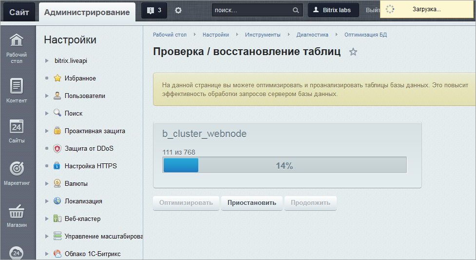Сжать html битрикс требования сервера для битрикса